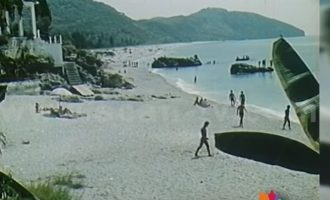 Dhërmi 1963 – pushime me kampingje
