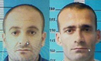 Dy shqiptarët që u arratisen nga burgu, Italia i kërkon me ushtri e helikoptera