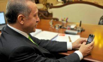 Shteti detyron turqit ta dëgjojnë Erdoganin edhe në telefonat e tyre