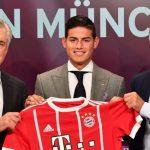 James shokon Bayernin ende pa nisur sezonin