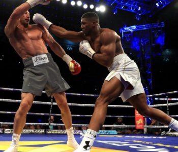 Joshua-Klitschko boksojnë përsëri, kësaj radhe në Las Vegas