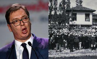 Vuçiq thotë se Lidhja e Prizrenit i kishte shkaktuar dëme Serbisë