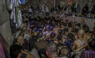 Iraku mban në kushte mizore ushtarët e burgosur të Shtetit Islamik