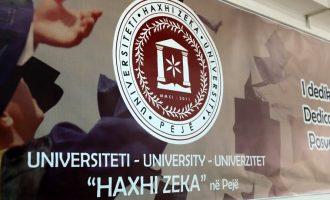 Konkursi i dyshimtë për rektor në Universitetin e Pejës