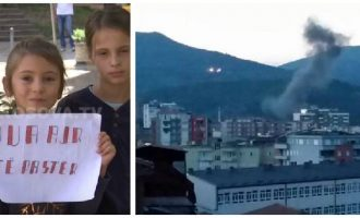 Protesta për ajër të pastër në Mitrovicë jep efekt, ndërhynë kryetari