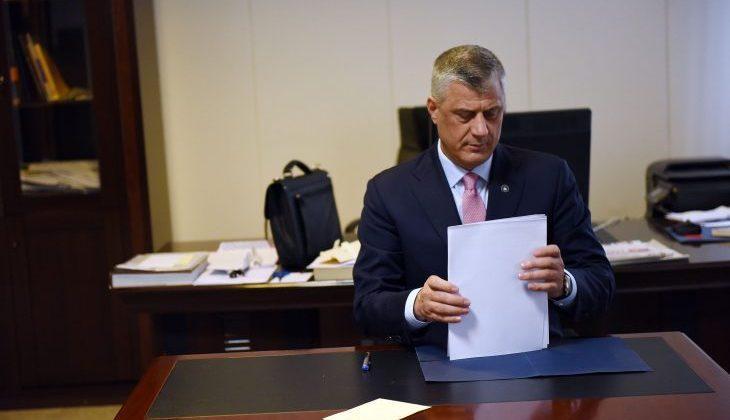 Presidenti Thaçi shpall të martën ditë zie në Kosovë