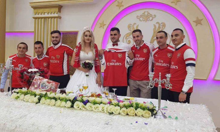 """Mediumi prestigjioz """"Goal"""" shkruan për kosovarin me fanellë të Arsenalit në ditën e dasmës"""