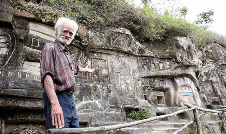 Kaloi 40 vite duke gdhendur një shkëmb, të cilin e ktheu në vepër arti