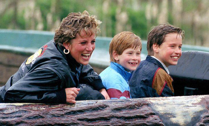 Hera e fundit kur Princi William dhe Princi Harry e panë nënën e tyre