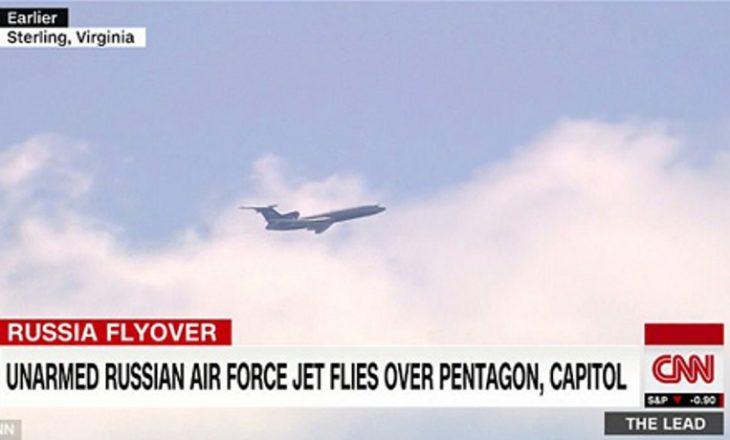 Avioni spiun rus fluturon mbi Pentagon, CIA dhe klubin e Trump