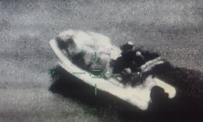 Kapet skafi që transportonte 600 kilogramë hashash