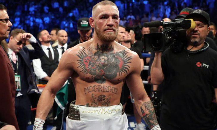 McGregor ka një vërejtje për gjyqtarin e ndeshjes