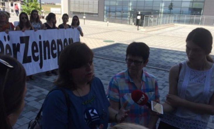 Përmes protestës kërkohet dënimi maksimal për vrasësin e Zejnepe Berishës