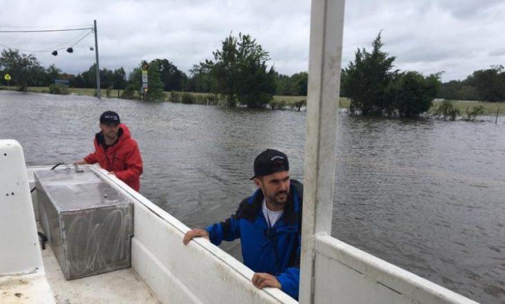 Shqiptarët që u dolën në ndihmë të prekurve nga vërshimet në Houston