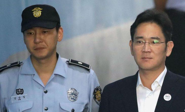 Shefi i lartë i Samsungut u dënua me 5 vjet burg për korrupsion