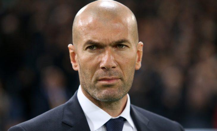 Zidane konfirmon lëndimin e yllit të realit
