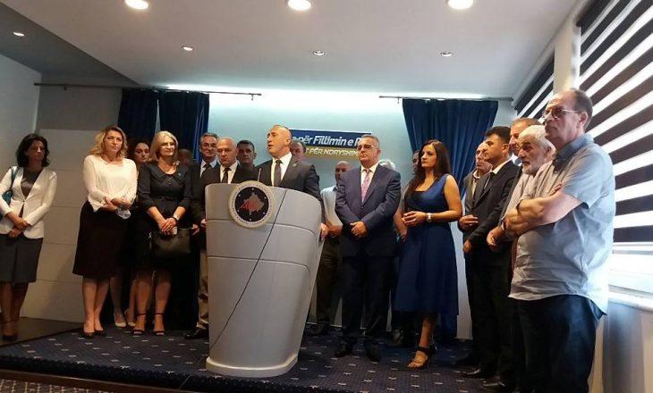 AAK-ja prezanton kandidatët për kryetar të Gjakovës e Pejës
