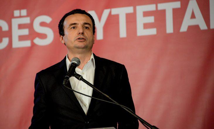 Vetëvendosje i kundërpërgjigjet LDK-së për postin e kryeministrit