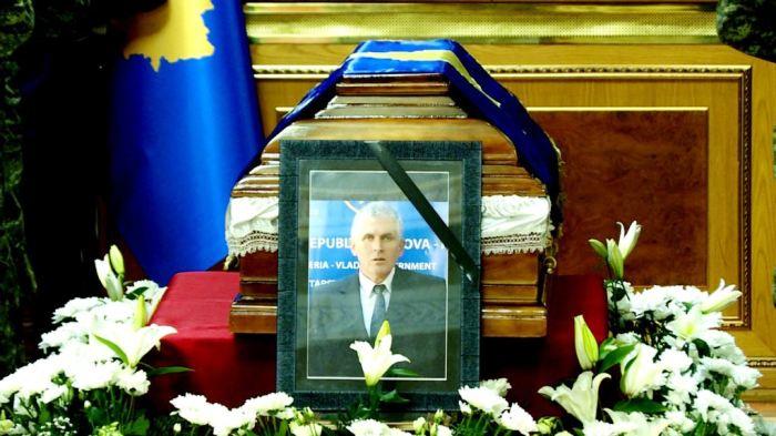 Homazhe për ish-kryeministrin Bajram Rexhepi