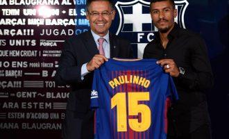 Barcelona nuk e ka shitur akoma asnjë fanellë të Paulinhos