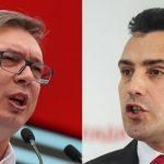 Maqedonia dhe Serbia zbusin tonet – Vuçiq dhe Zaev bisedë telefonike
