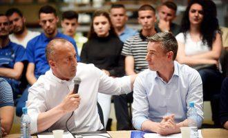 Kur Kadri Veseli përjashtonte nga seanca Ramush Haradinajn
