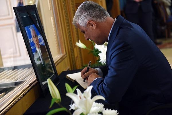 Thaçi: Bajram Rexhepi u shqua për guxim, profesionalizëm dhe humanizëm