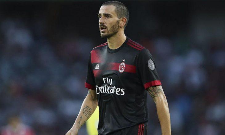 Bonucci: Unë te Milan, si Pirlo tek Juventus