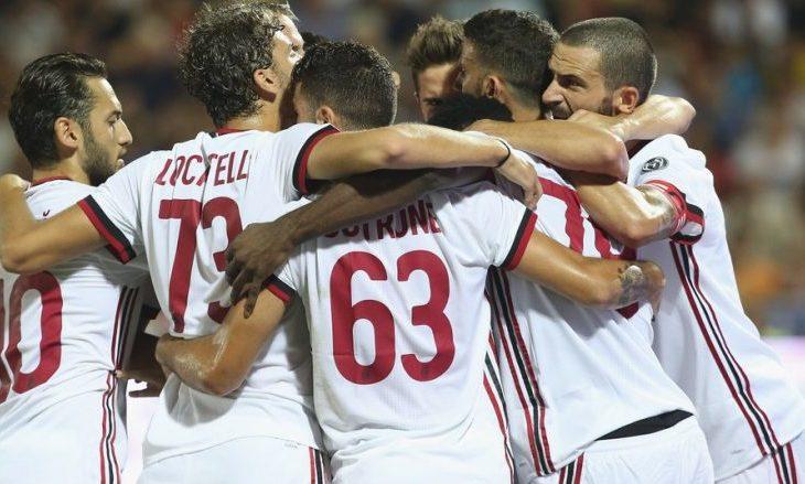 Shkëndija pëson gol në fillim të ndeshjes nga Milani