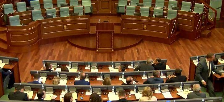 Deputetët e PAN-it arrijnë në Kuvend