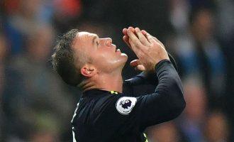 Rooney barazon rekordin e Alan Shearer
