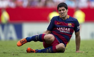 Tjetër goditje për Barcelonën, lëndohet Luis Suarez