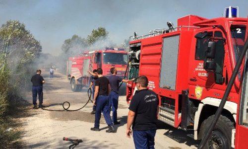 Për 11 ditë 120 raste të zjarrit në rajonin e Prishtinës