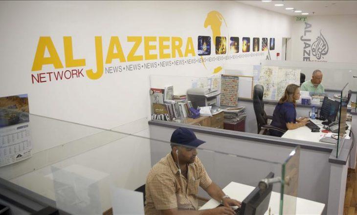 Izraeli mbyll Al Jazeera