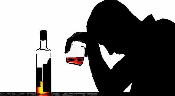 Ndikimi i alkoolit tek qelizat e trurit