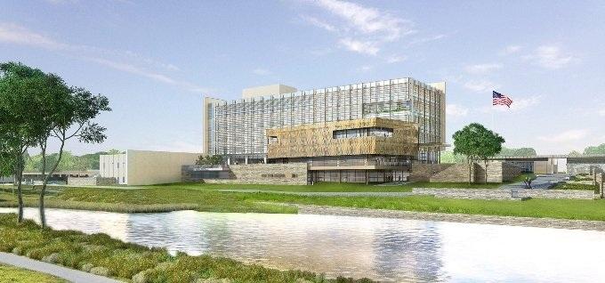 Ky është objekti i ri ambasadës amerikane në Prishtinë