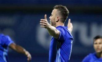 Flet ylli i Kosovës pas golit të parë për Dinamon e Zagrebin