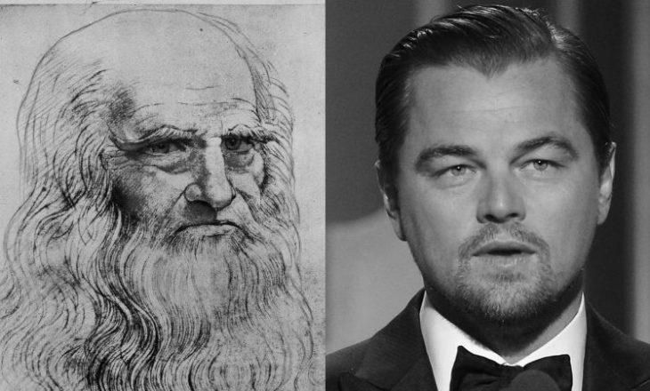 Di Caprio në rolin e Da Vincit në filmin biografik