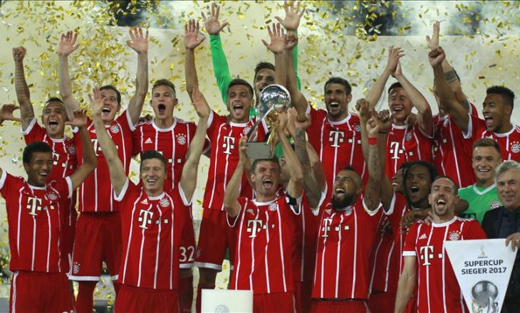 Bayern Munich fitues i super kupës gjermane