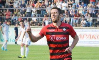 Futbollisti kyç i Shkëndijes në përballjen me Milanin