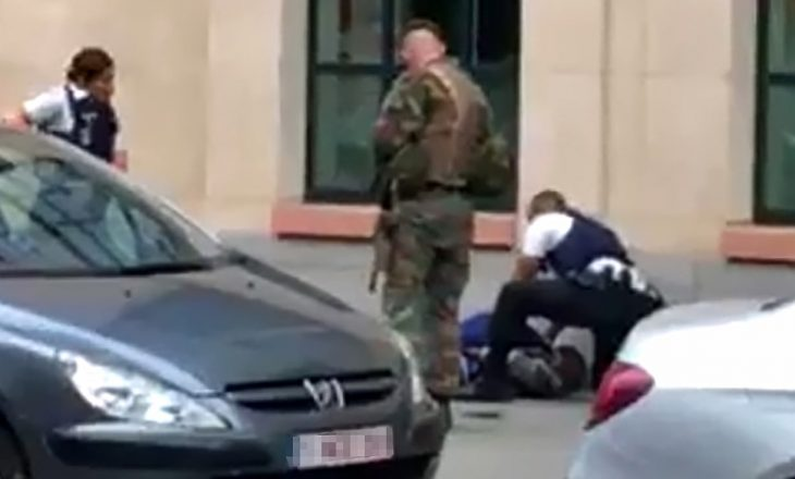 Sulm ndaj ushtarëve në Bruksel