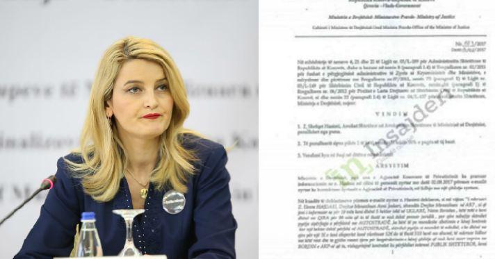 Avokati i Shtetit i reagon Ministres së Drejtësisë: Vendimi juaj është i paligjshëm