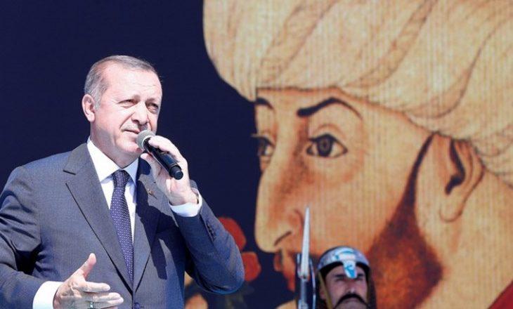 Erdogani u bën thirrje turqve të frymëzohen nga historia