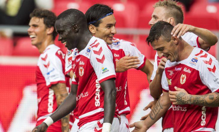 Zyrtare: Albert Bunjaki fton futbollistin e Kalmarit në përfaqësuese