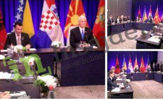 Tre flamujt që munguan në Samitin e Podgoricës