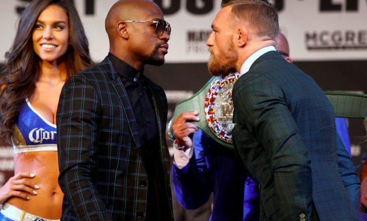 """Shuma e """"çmendur"""" e parave që do të përfitojnë McGregor dhe Mayweather"""