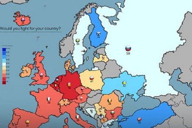 """Kosova, e pesta në hartën e """"vendeve më luftarake"""""""
