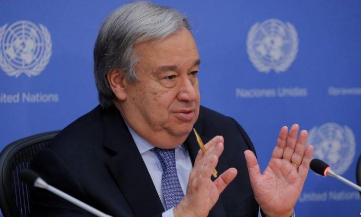Guterres: Vazhdon puna e komisionit të OKB-së rreth Sirisë