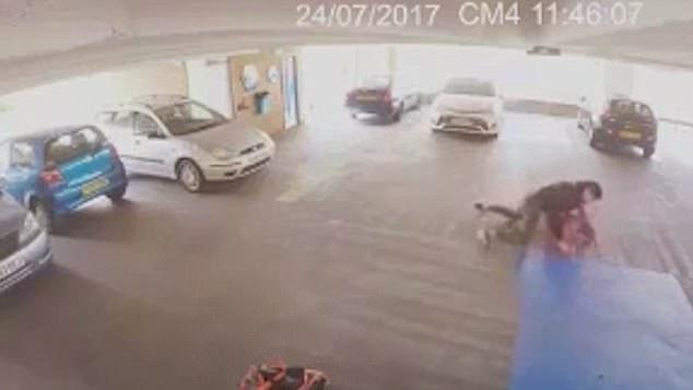 VIDEO: Hajni më i pafat në botë – tenton të vjedhë veturën, por kapet nga luftëtari i MMA-së