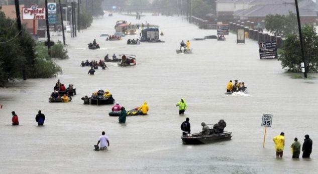 20 familje shqiptare humbin gjithçka pas Uraganit 'Harvey'